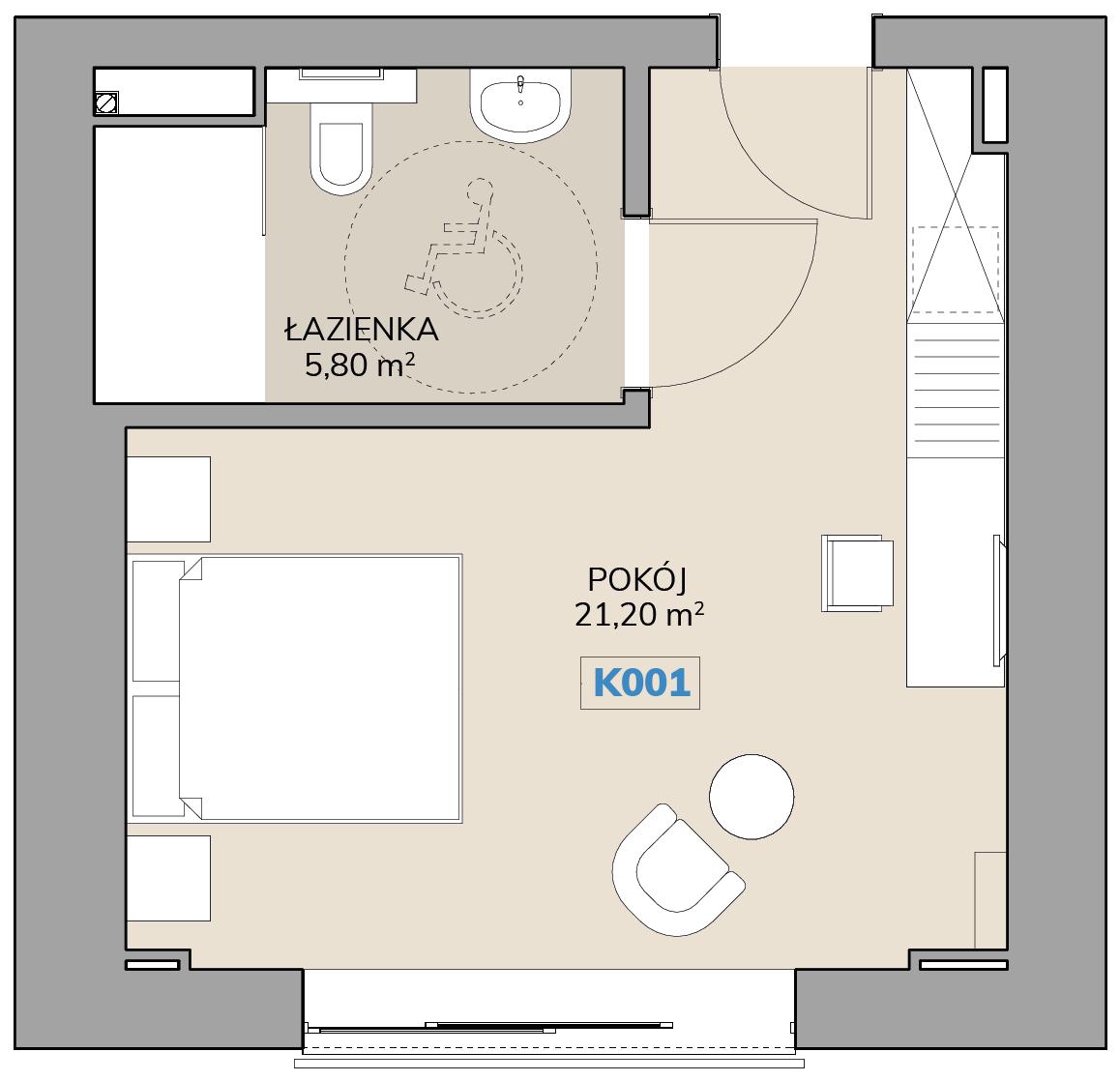 Apartament K001