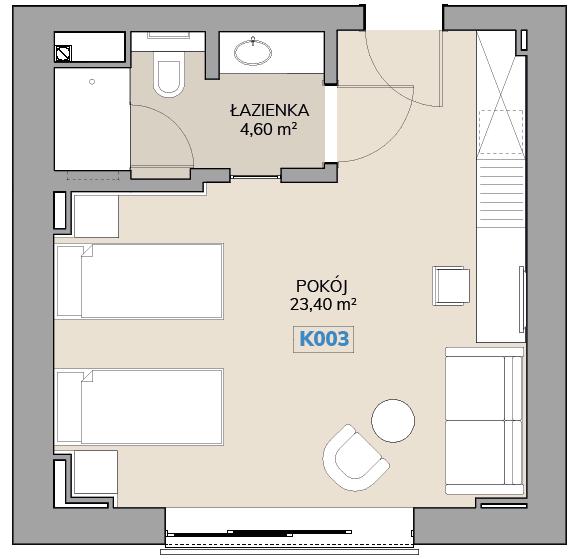 Apartament K003