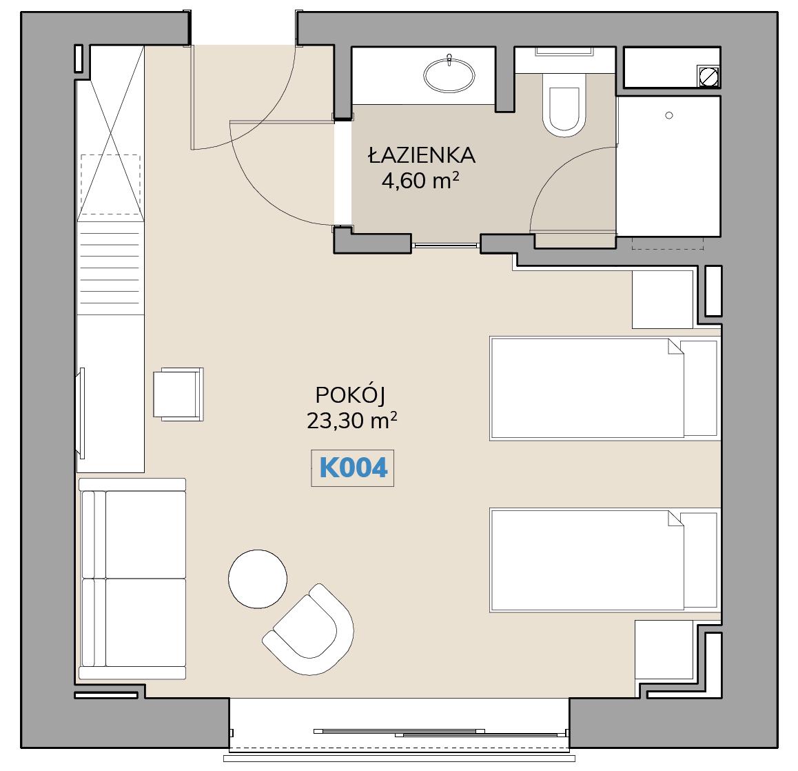 Apartament K004