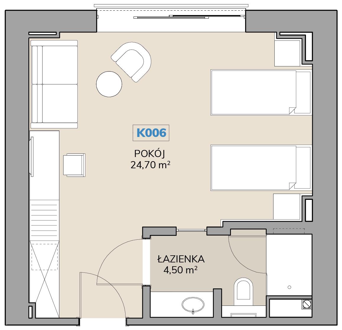 Apartament K006