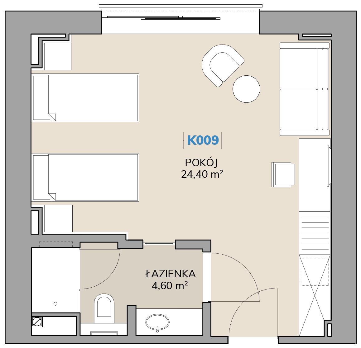 Apartament K009