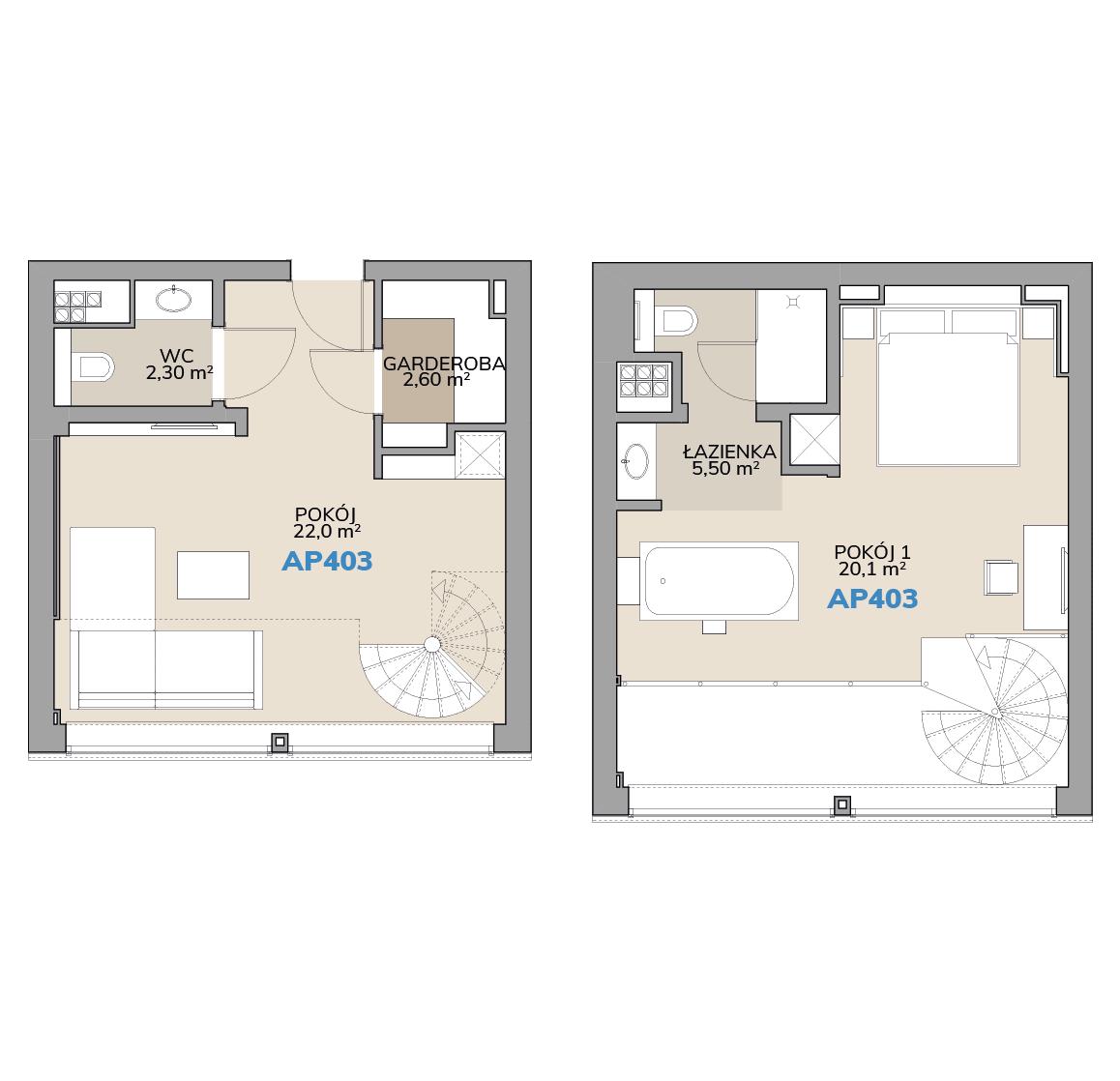 Apartament AP403