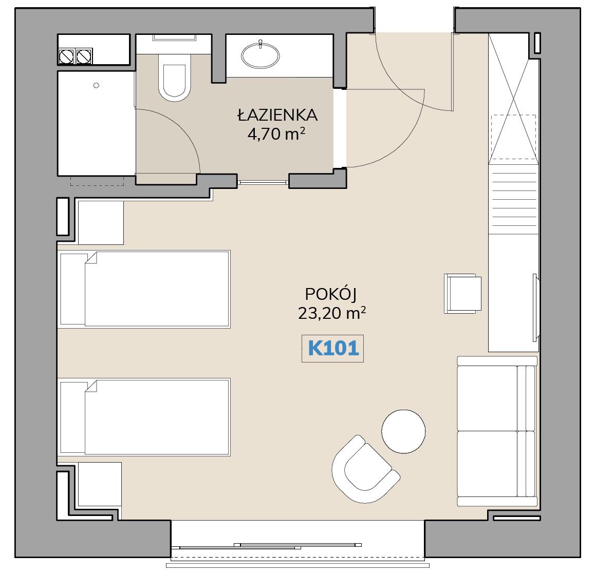 Apartament K101