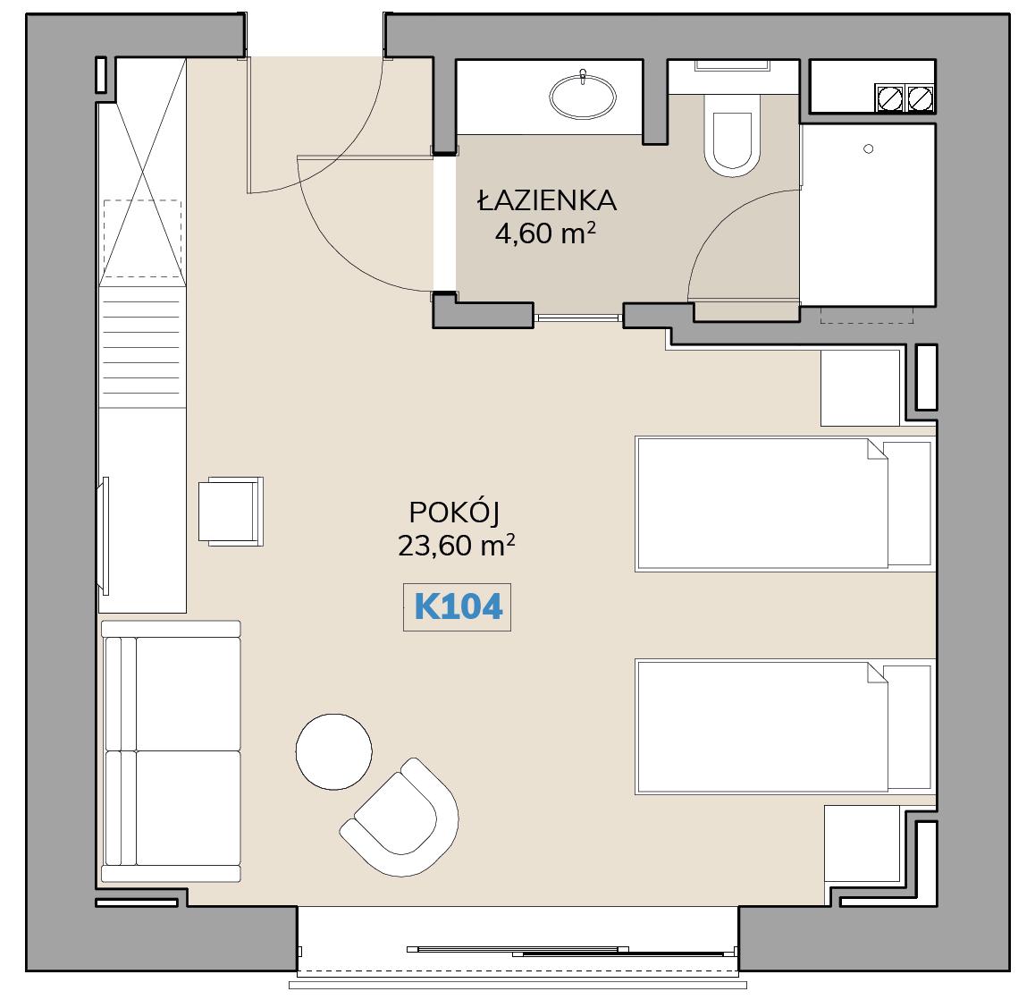Apartament K104