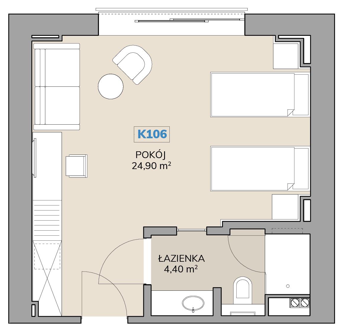 Apartament K106