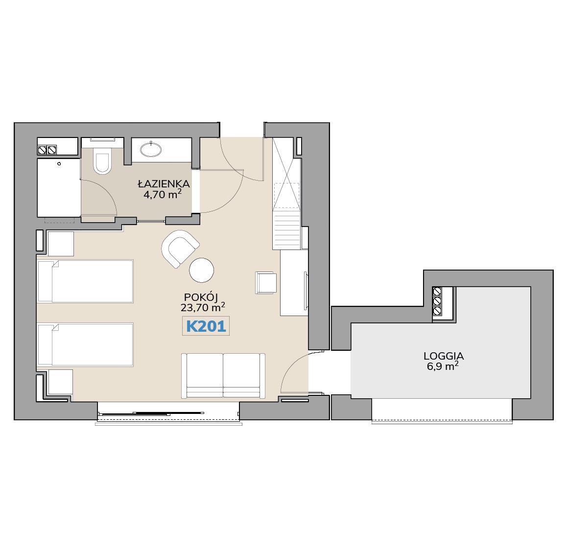 Apartament K201