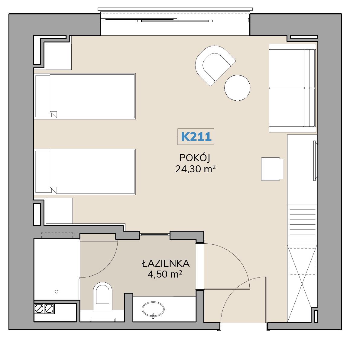 Apartament K211