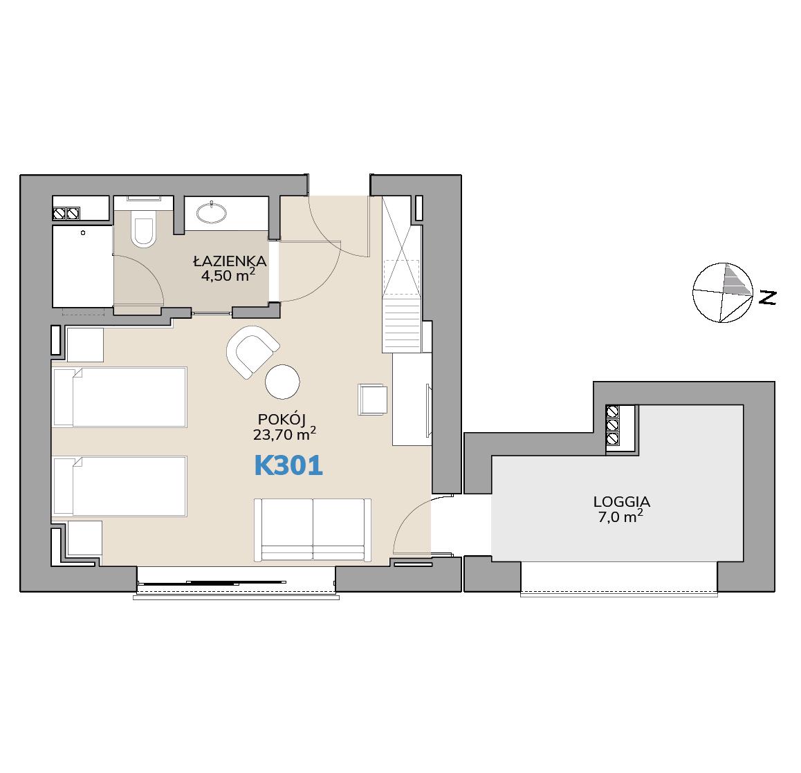 Apartament K301