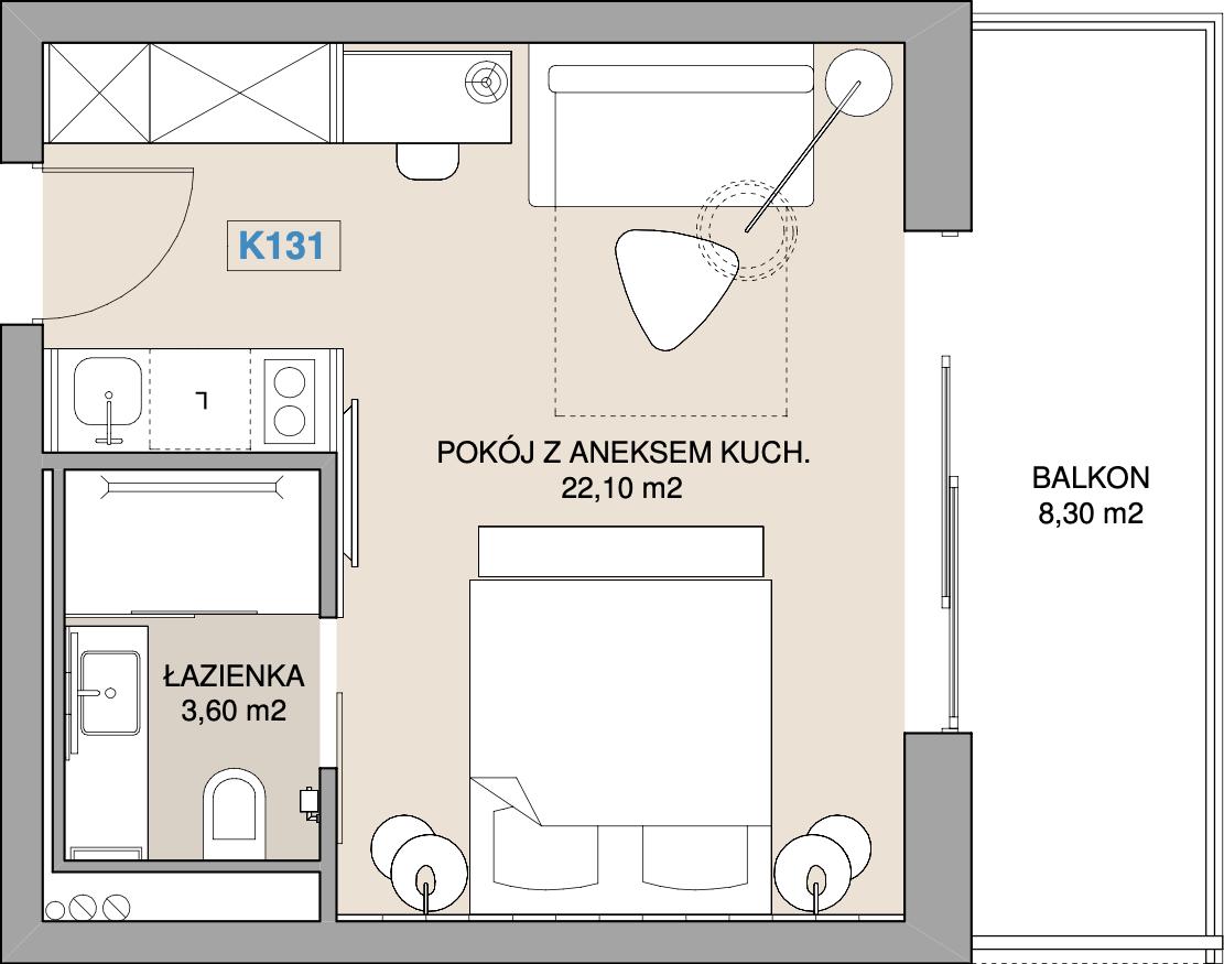 Apartament K131