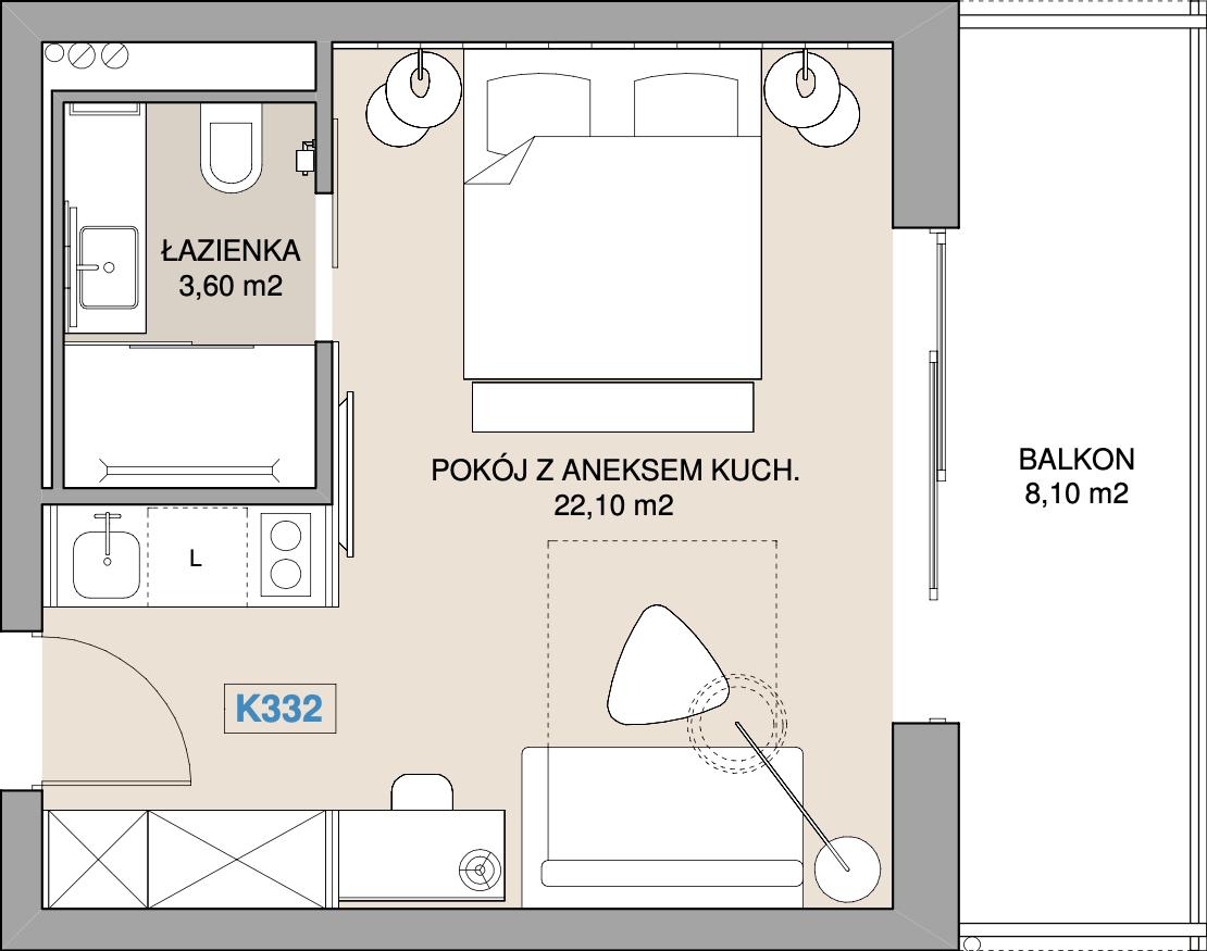 Apartament K332