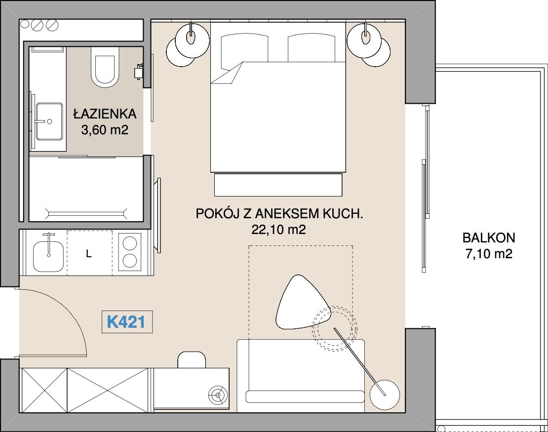 Apartament K421