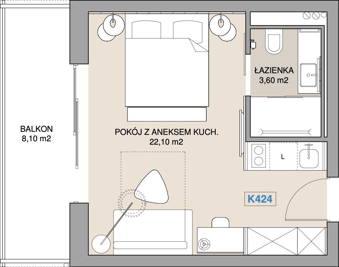 Apartament K424