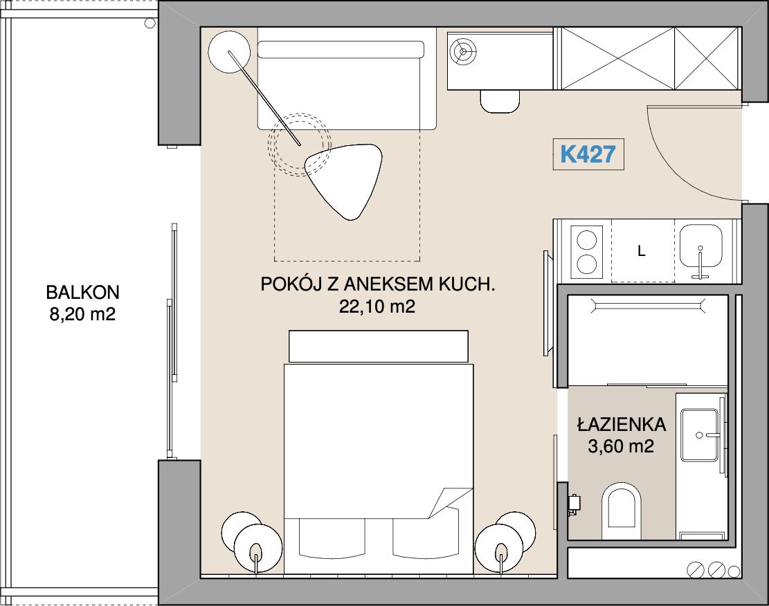 Apartament K427