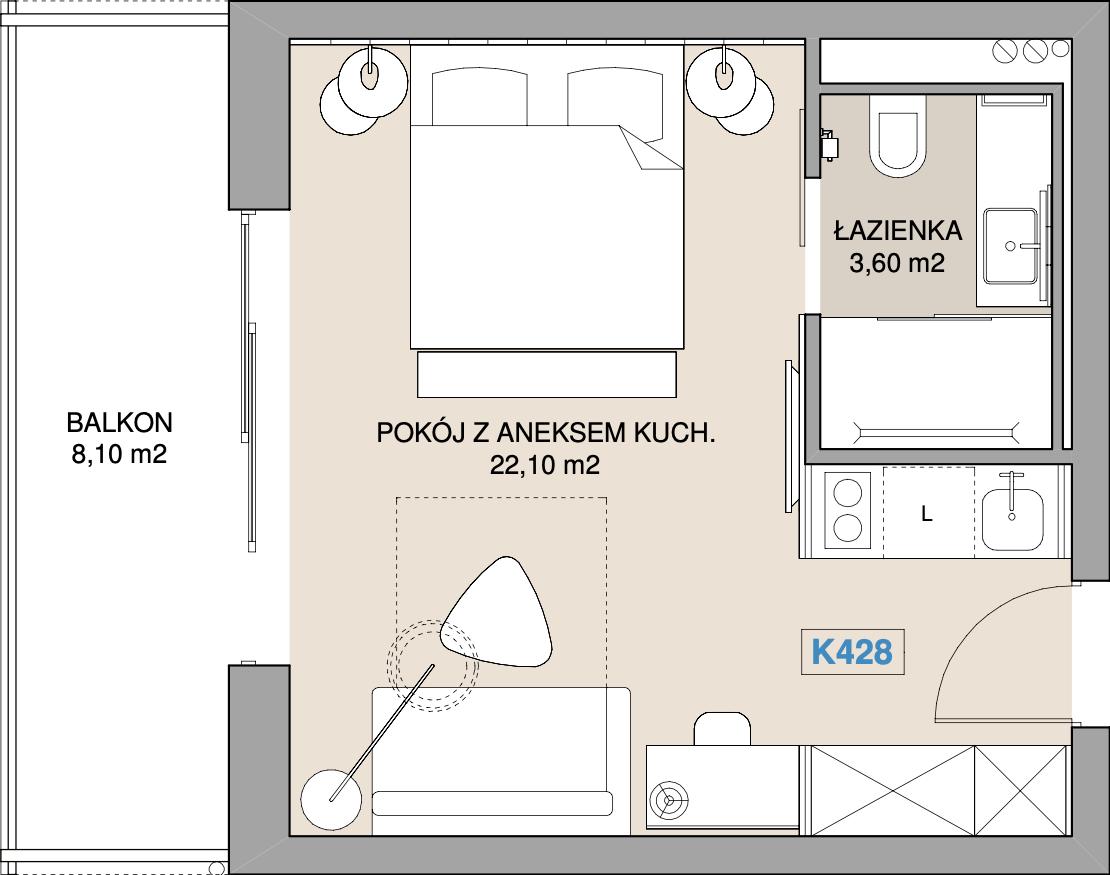Apartament K428