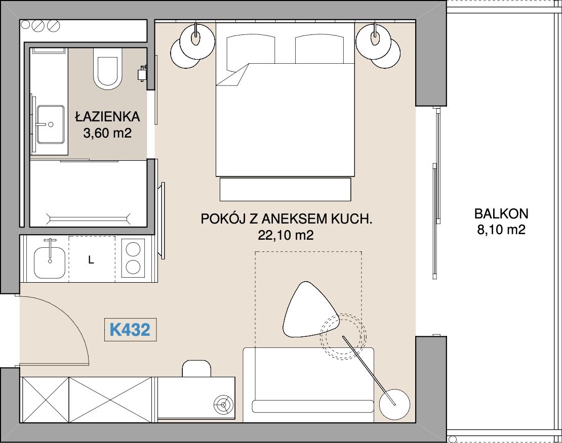 Apartament K432