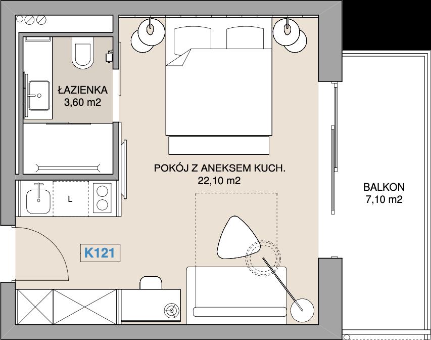 Apartament K121