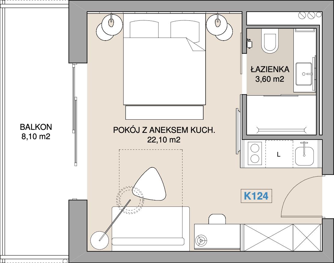 Apartament K124