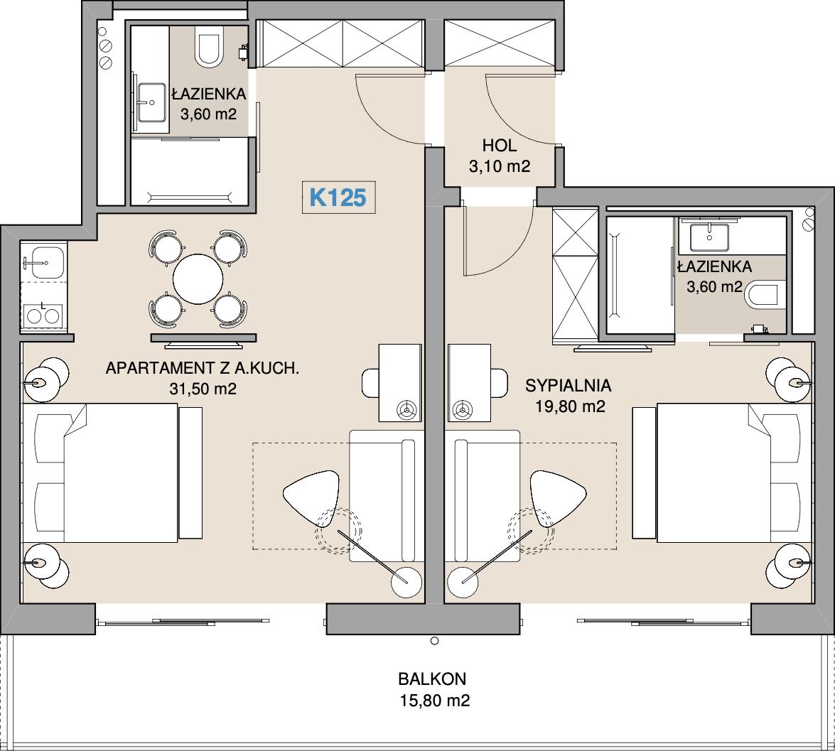 Apartament K125