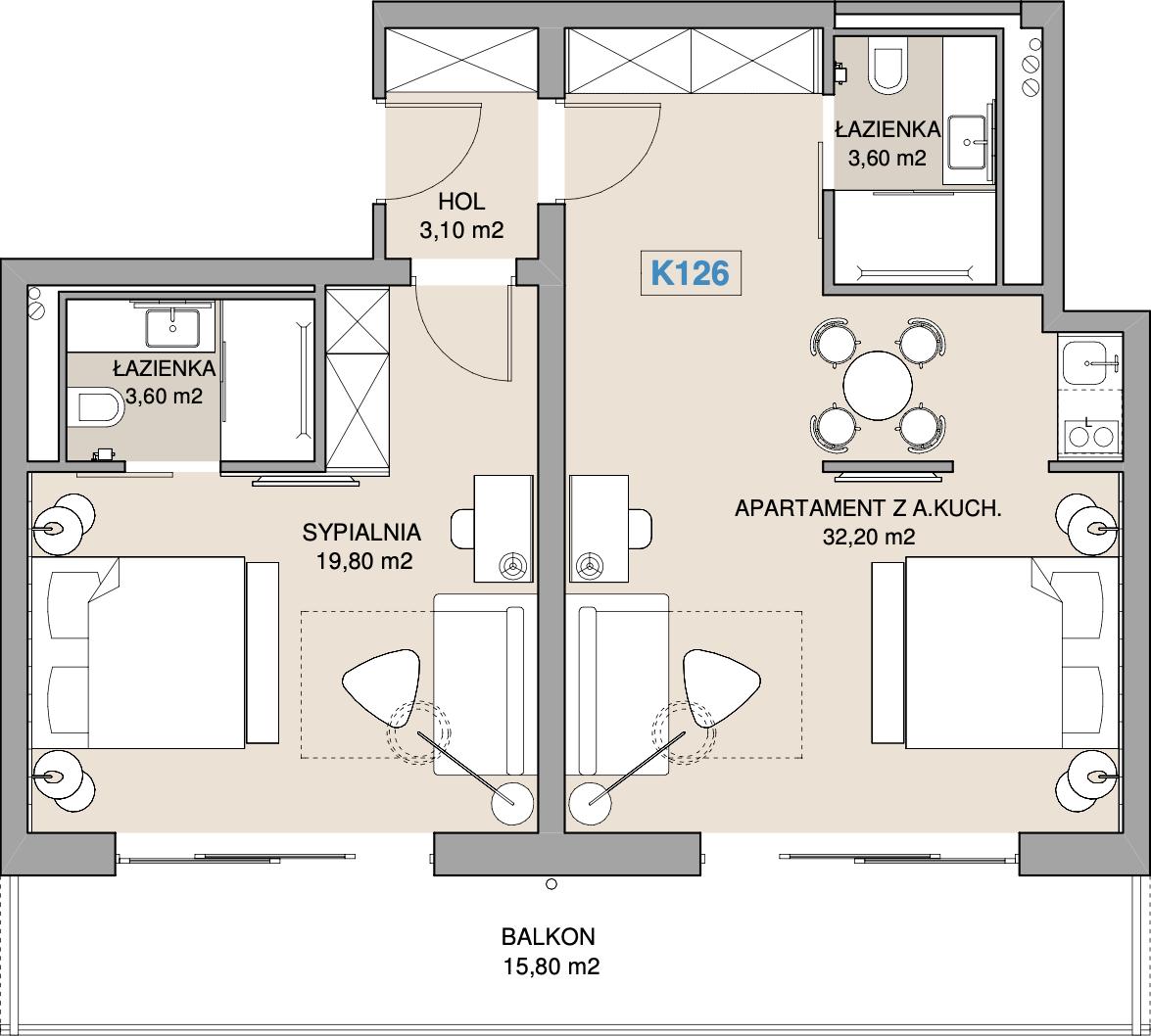 Apartament K126